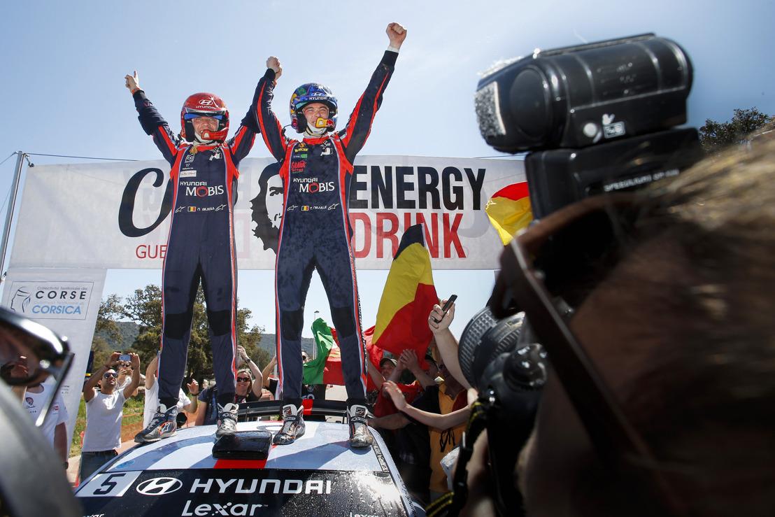 Hyundai Motorsport scores victory and double podium in Tour de Corse