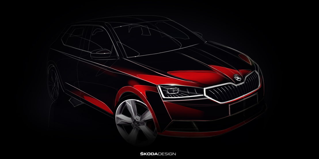 The new design of the ŠKODA FABIA includes state-of-the-art LED headlights as well as LED rear lights with an exceptionally clear structure.