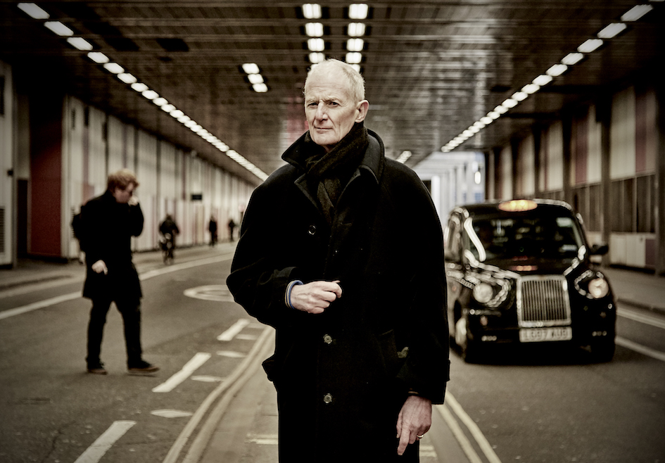 Peter Hammill photographed in London 2018