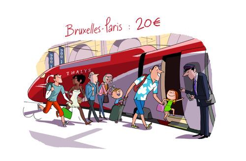 Du 16 mai au 7 juin, Thalys propose près de 50 000 billets à petits prix pour des escapades estivales