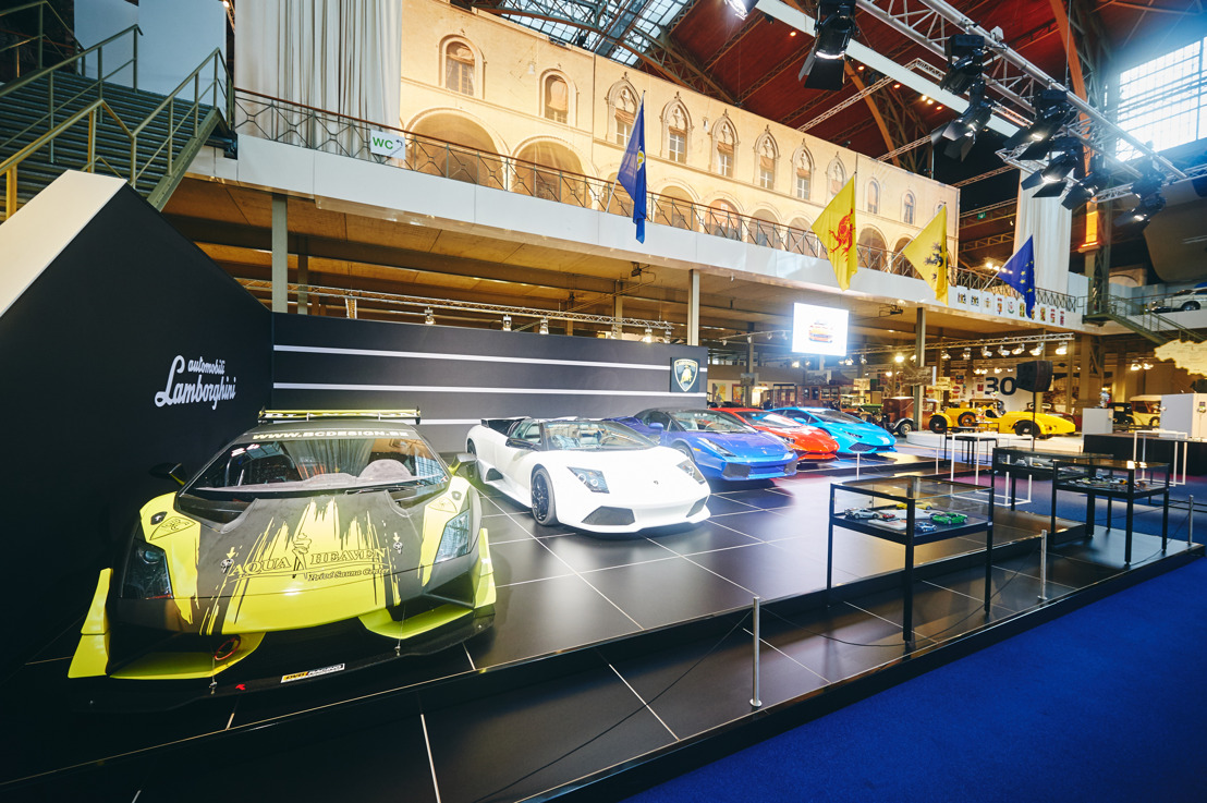 "Opening of the ""Italian Car Passion"" exhibition by Mr Stephan Winkelmann, President and CEO of Automobili Lamborghini."