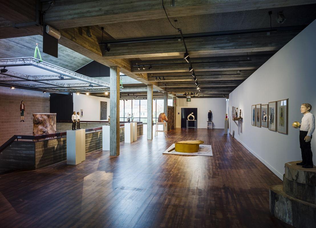 Expo Stephan Balkenhol - Curator Jo Coucke - Foto: Cedric Verhelst
