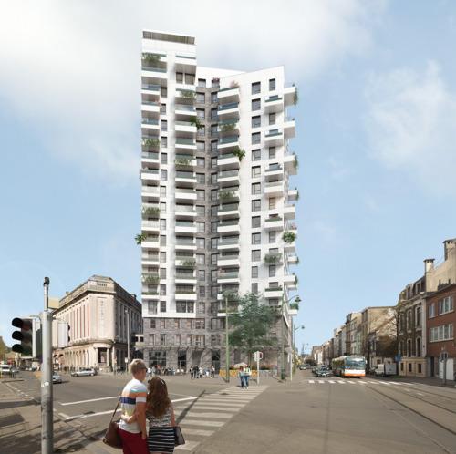 Heropleving Molenbeek in stroomversnelling: 100 appartementen op Cinoco-site