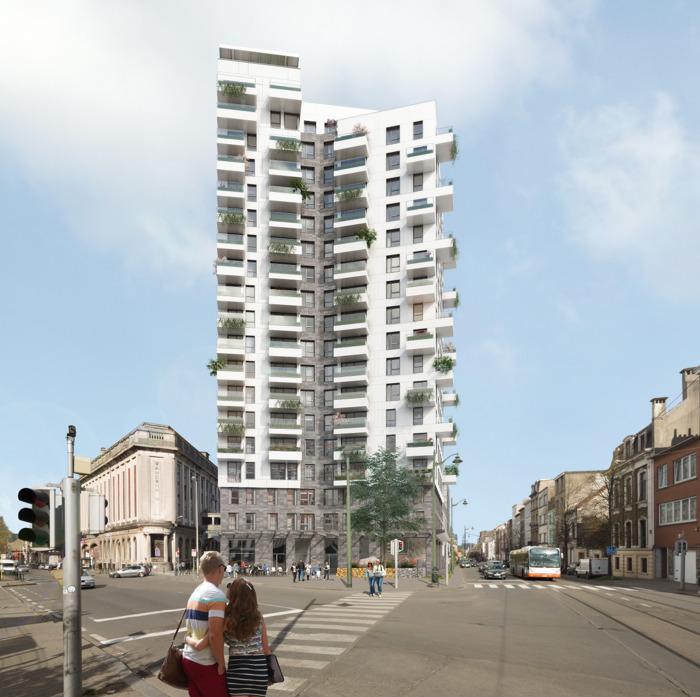Le renouveau de Molenbeek s'accélère: 100 appartements sur le site de Cinoco