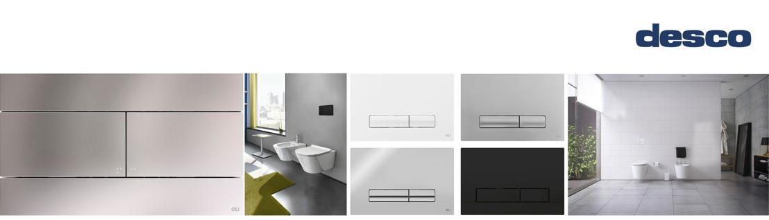 OLI : stijlvolle wc-duwplaten voor kleine en grote boodschappen