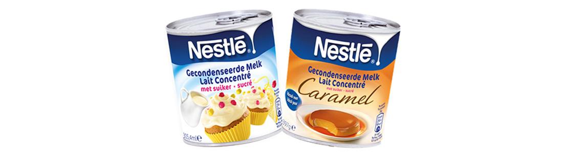 Nestlé karamelliseert zijn beroemde Gecondenseerde Melk met Suiker