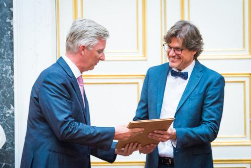 Le neurologue Steven Laureys (ULg) se voit décerner le prestigieux Prix Francqui 2017 des mains de Sa Majesté le Roi