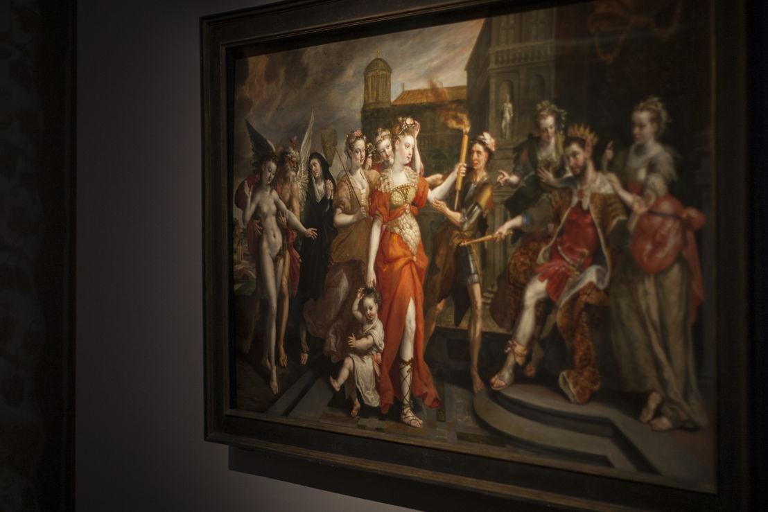 Maerten de Vos, De Laster van Apelles, (c) Ans Brys
