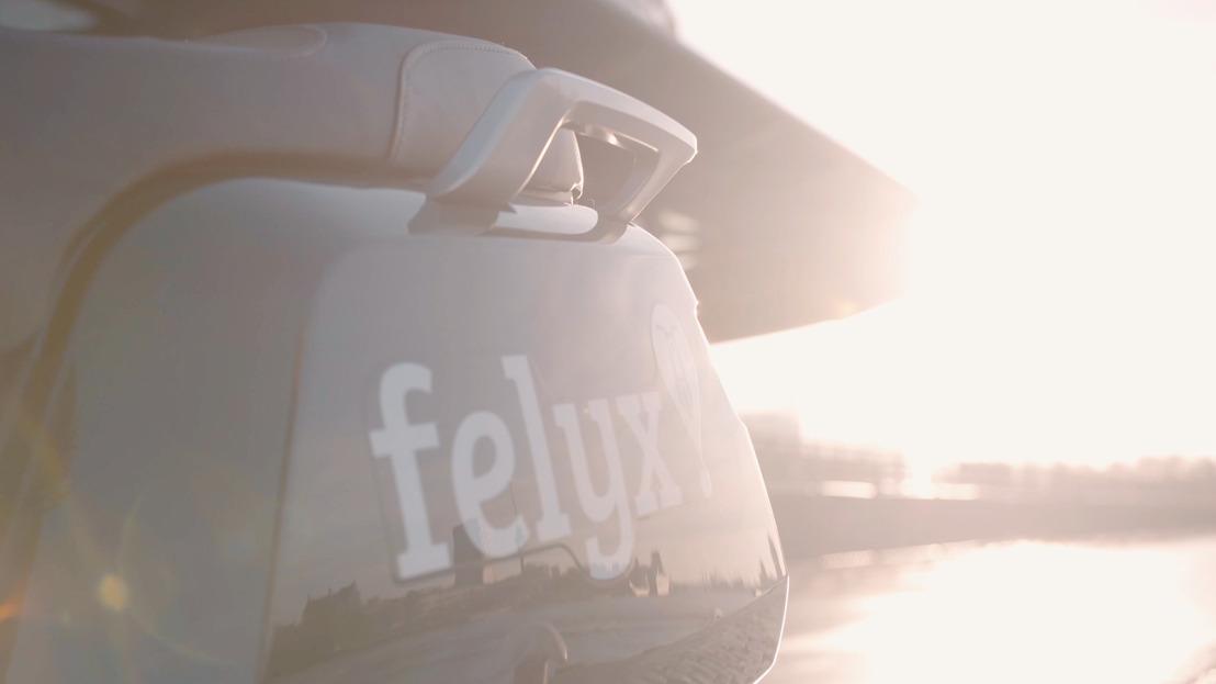 Elektrische deelscooters van felyx komen naar Groningen