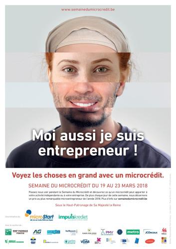 Septième Semaine du Microcrédit : les entrepreneurs bruxellois vont trouver à qui parler !