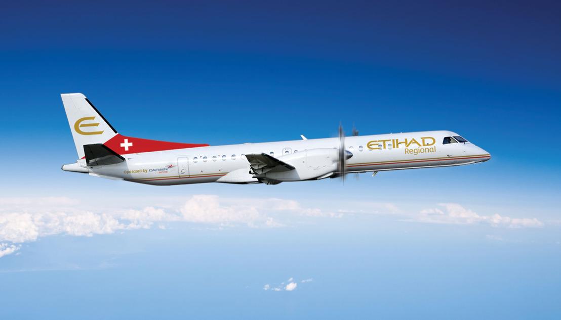 Investering van 33,3% door Etihad Airways in Darwin Airline goedgekeurd door Zwitserse regelgevende autoriteiten