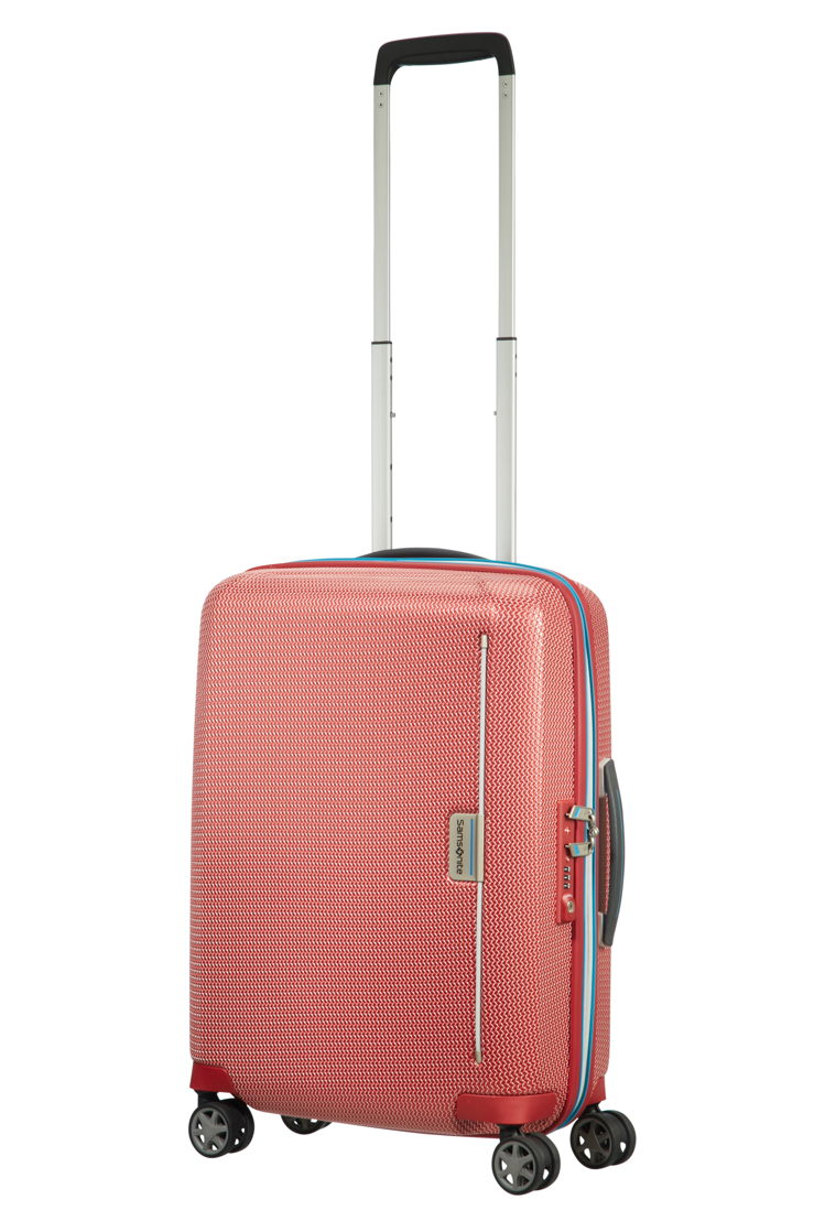 Samsonite_MIXMESH_Spinner 55_Pacific Blue/Red