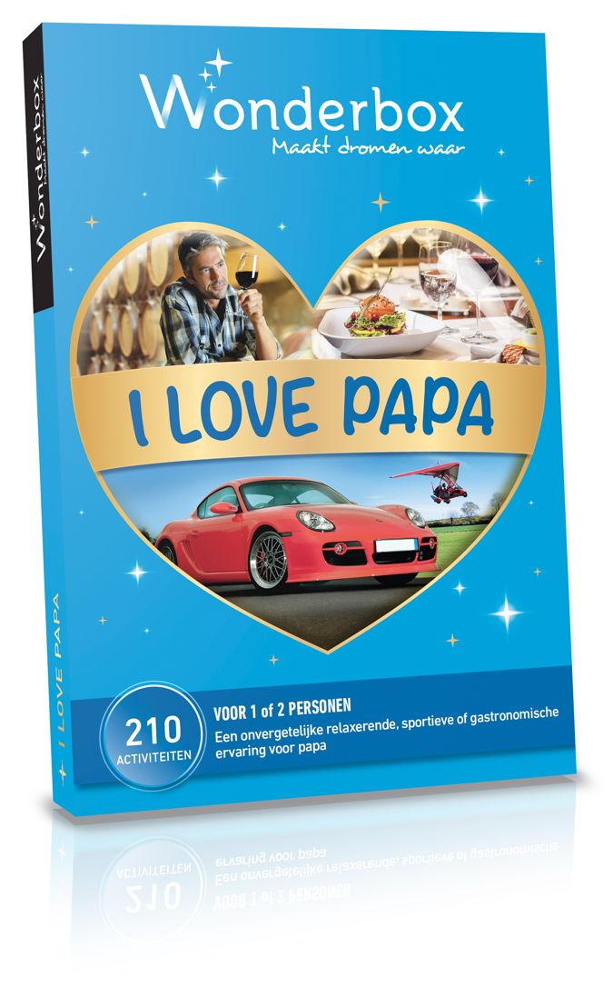 Wonderbox I love Papa: 49,90 €.