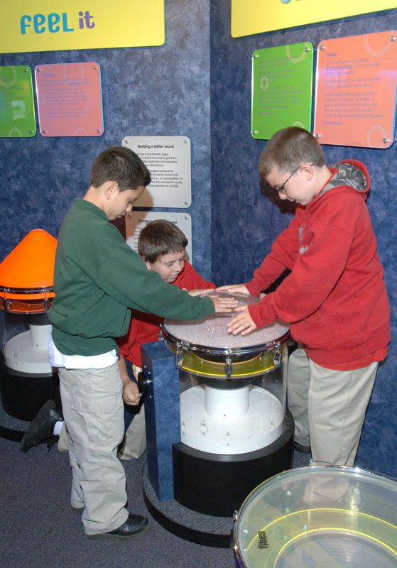 Sand Drum (Photo Credit: Boston Children's Museum)
