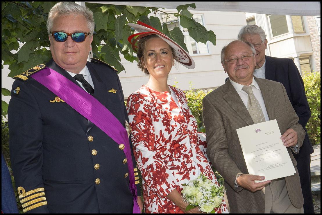 Koninklijke vereniging OKRA uit Wieze (Lebbeke), voorzitter Hugo Van Cakenbergh