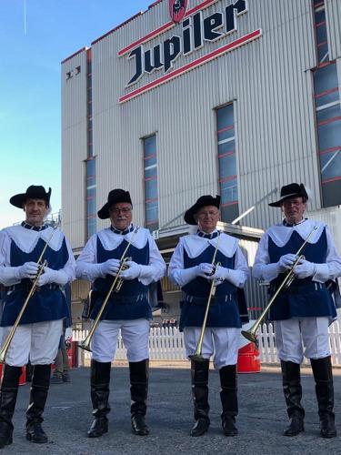 AB InBev accueille les brasseurs belges dans la Brasserie de Jupille pour une cérémonie solennelle