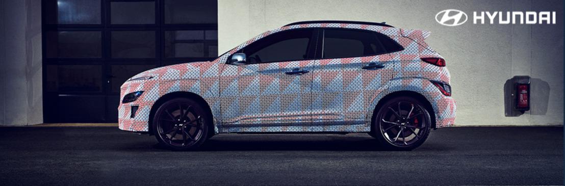 La nueva Hyundai KONA N SUV se une a la creciente línea de modelos de alto rendimiento