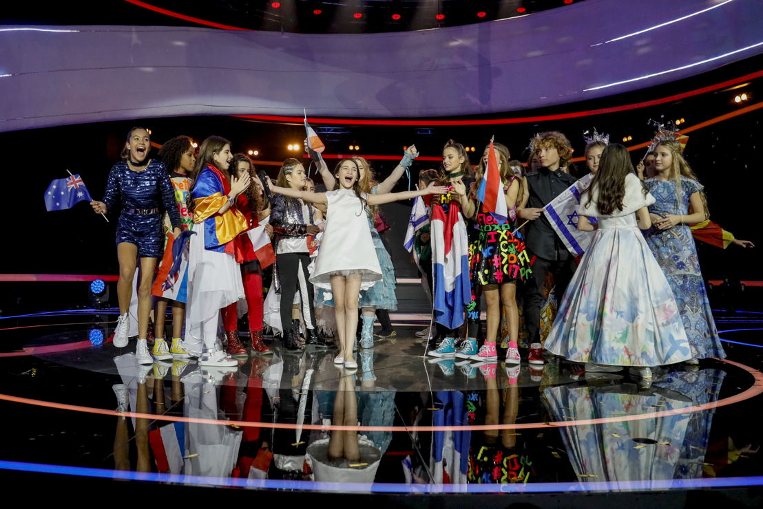 JESC 2016 winner, Mariam Mamadashvili from Georgia