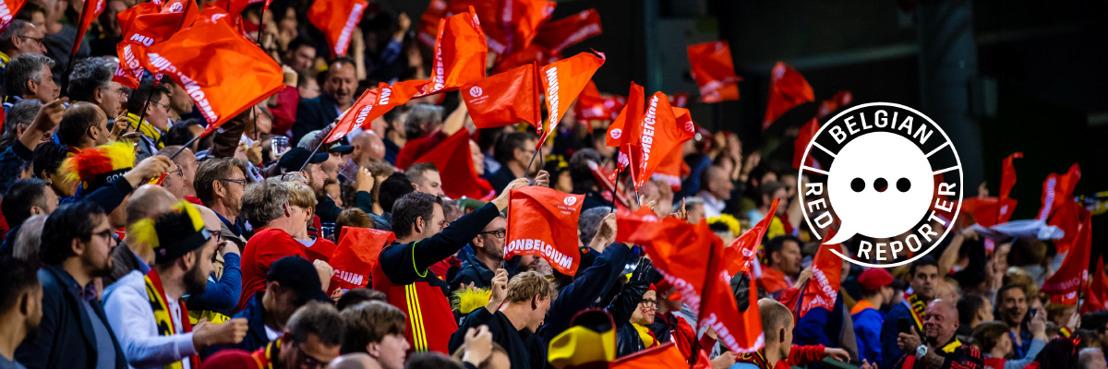 Les Diables Rouges et les Red Flames recherchent un(e) reporter parmi leurs supporters via une chasse aux talents