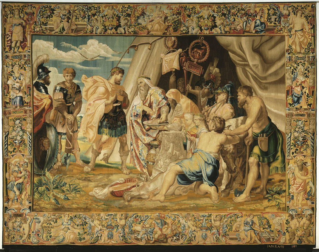 Het Orakel van Decius Mus_Jan II Raes_copyright_Rubenshuis