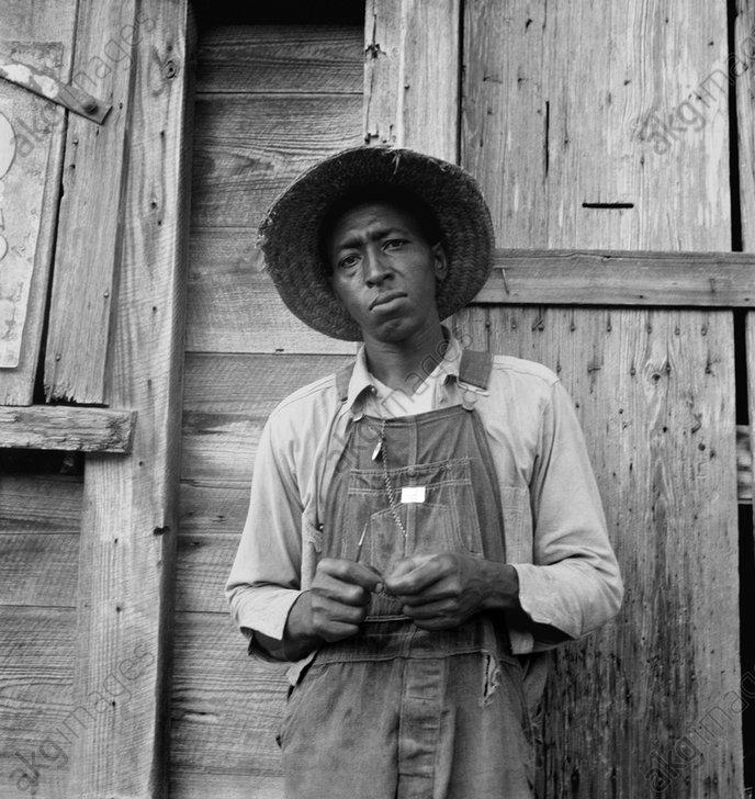Black farmer in North Carolina.<br/>Photo, July 1939 (Dorothea Lange)<br/>AKG896813