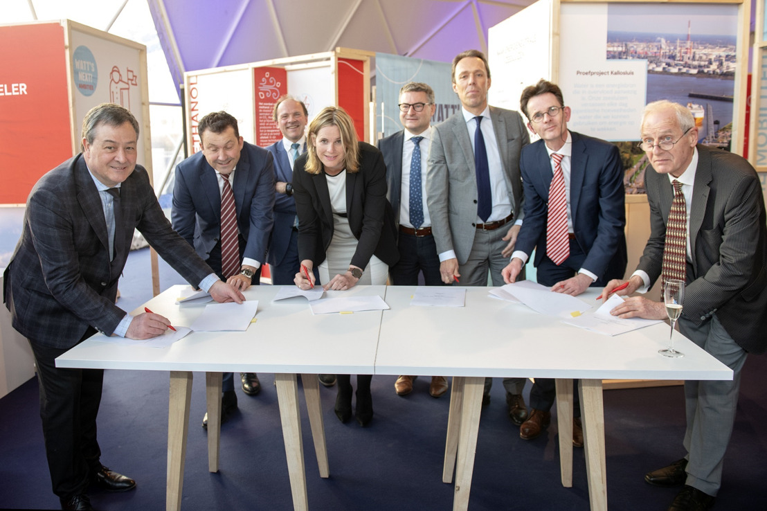 Port of Antwerp brings different players together to produce sustainable methanol