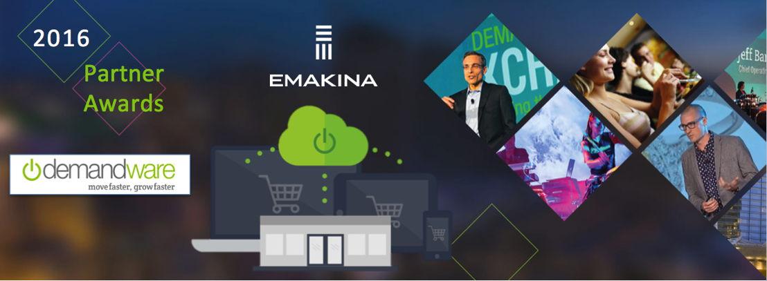 Emakina wint Demandware-prijs