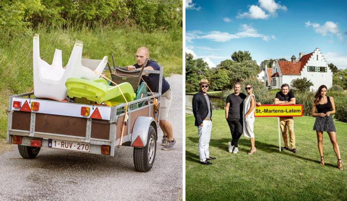 VTM 2 komt met Vlaamse versie van Ik Vertrek en volgt opvallende bewoners van Sint-Martens-Latem