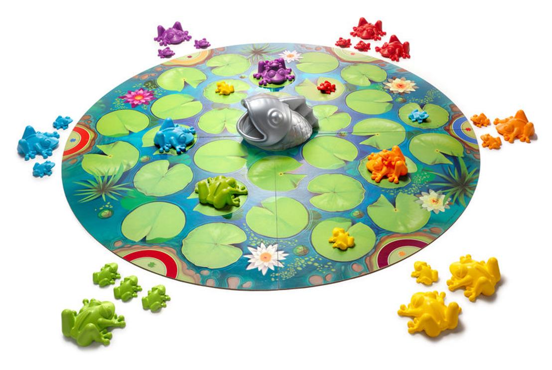 Découvrez L'odyssée des grenouilles : le tout premier jeu multijoueur de Smartgames ! 🐸