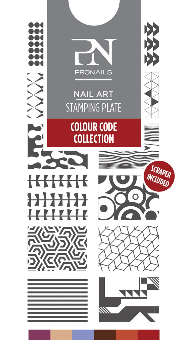 Stamping Plate uit Colour Code Collection