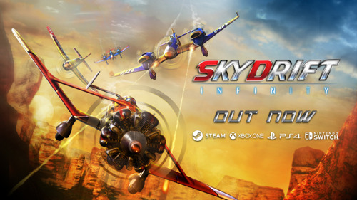 """""""HandyGames HQ, Skydrift Infinity is airborne!"""""""