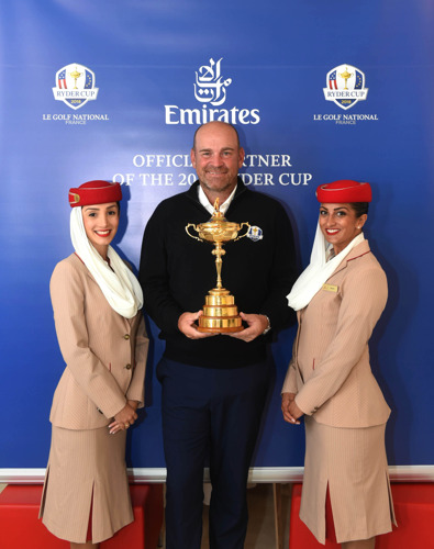 Emirates gets inside the ropes at The 2018 Ryder Cup
