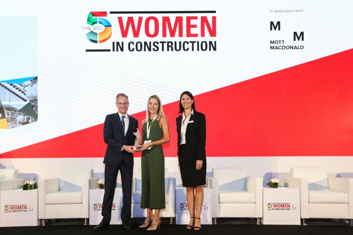 Preview: تكريم السيدات الرائدات في قطاع البناء في معرض الخمسة الكبار (THE BIG 5)