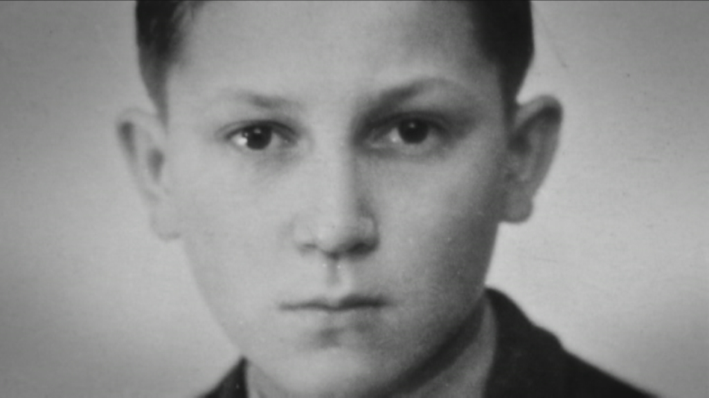 Touched by Auschwitz :  Hermann Hollenreiner (jong) - (c) LR History LTD