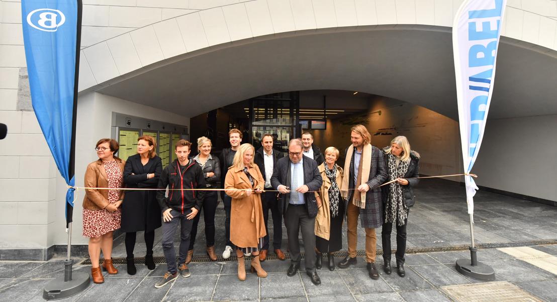 Nieuwe onderdoorgang station Aalst officieel geopend