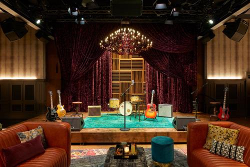 """""""Analog"""", el nuevo recinto musical del icónico Hutton Hotel, en Nashville, estrena un sistema de sonido Bose Profesional"""