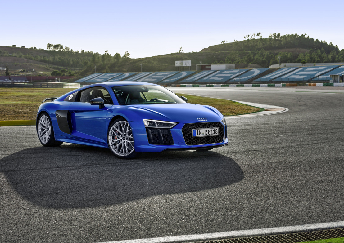 L'Audi R8 est la «  2016 World Performance Car »