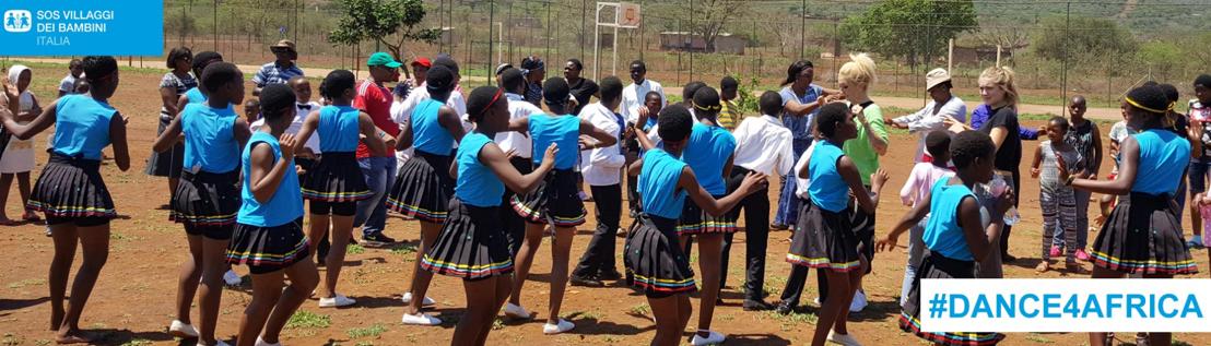 SOS VILLAGGI DEI BAMBINI: AL VIA LA CAMPAGNA #DANCE4AFRICA PER CONTRASTARE LA DIFFUSIONE DEL VIRUS HIV TRA I BAMBINI DELLO SWAZILAND
