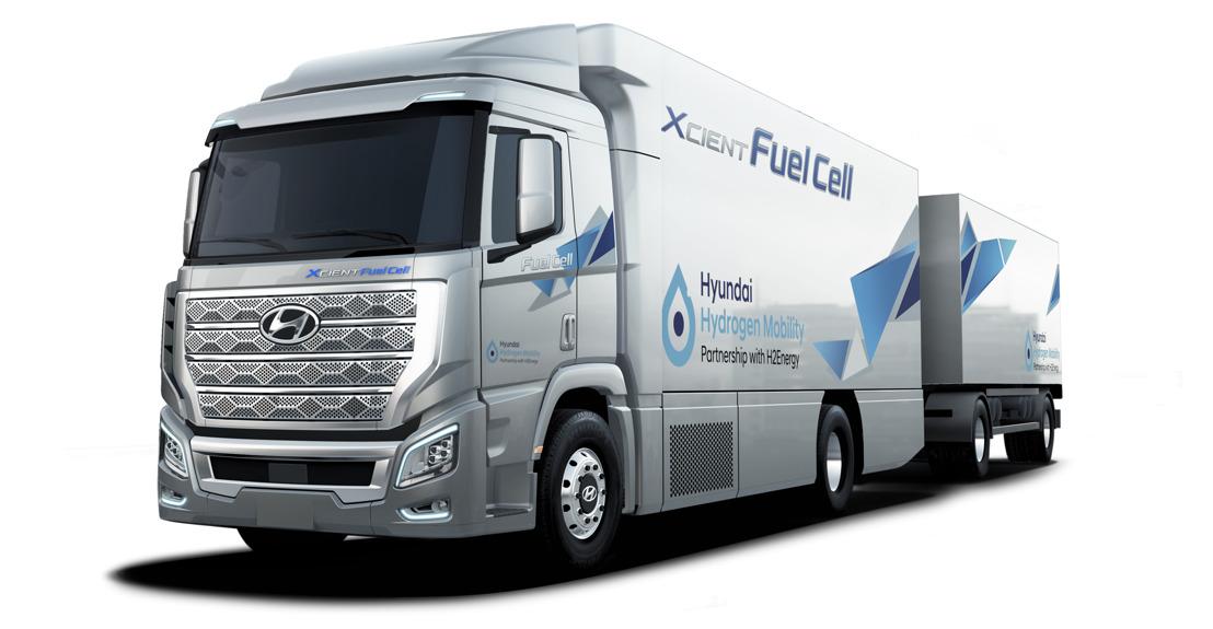 Einzigartiges Wasserstoff-Ökosystem mit grünem Wasserstoff und Hyundai H2-Elektro-Nutzfahrzeugen startet ab 2020 in der Schweiz