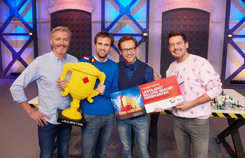 De winnaars van LEGO Masters 2021 zijn gekend en gaan met 25.000 euro naar huis