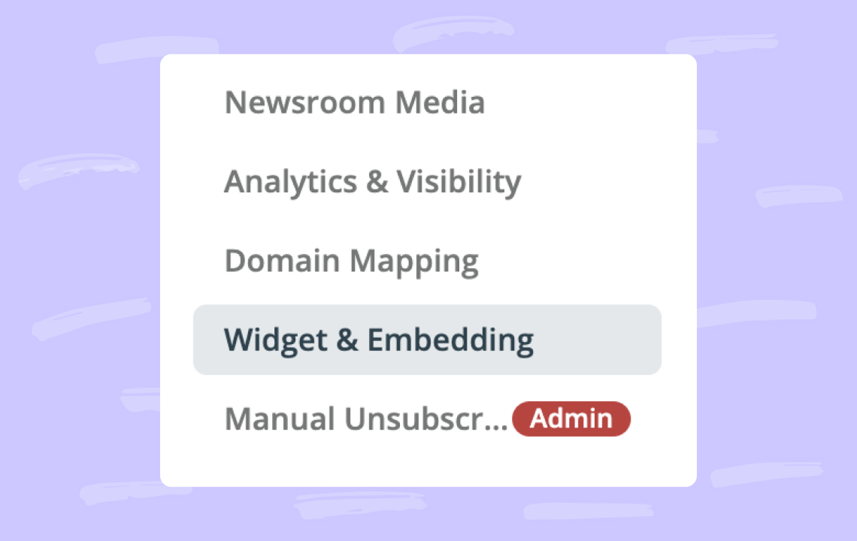 Help: Display Prezly feeds in your website with the Newsroom Widget