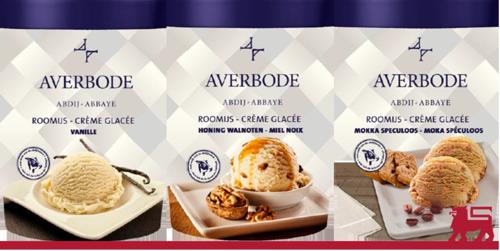 """""""Eén met het moment: Averbode Abdij-ijs beschikbaar bij Delhaize """""""