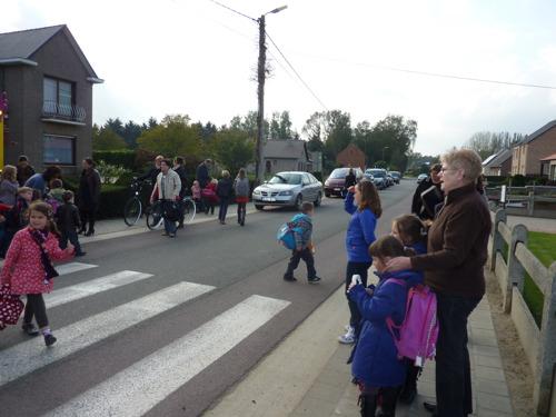Veiliger naar basisschool De Verre Kijker in Bekkevoort