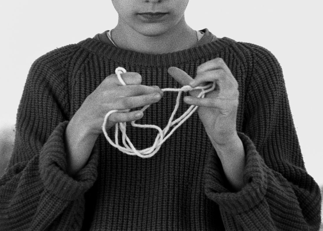 Exposition Twisted Strings M-Museum Leuven. <br/>Film Still 2016 (c) Katrien Vermeire