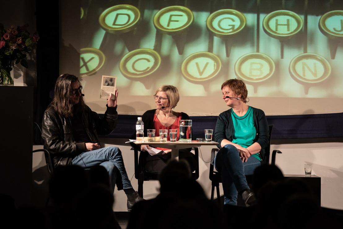 Literaire talkshow Stukken van Schrijvers in het Letterenhuis