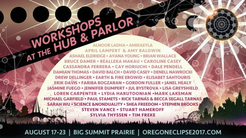 Preview: Oregon Eclipse Announces Keynote Speakers, Educational Programming, and Workshops for August 17-23 2017 Gathering at Big Summit Prairie