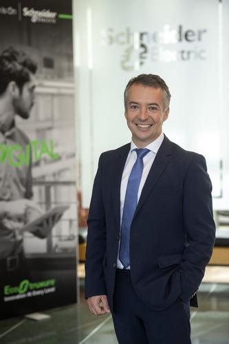 David Orgaz D'Hollander wordt nieuwe cluster president België-Nederland van Schneider Electric