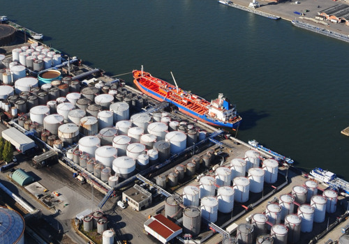 Storage of ammonium nitrate under very strict safety conditions in Port of Antwerp