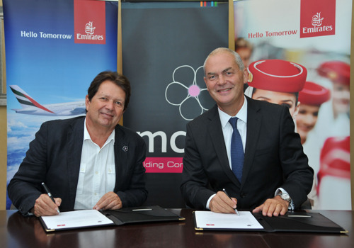 Emirates inks deal with MCI Group to become its Official Airline Partner