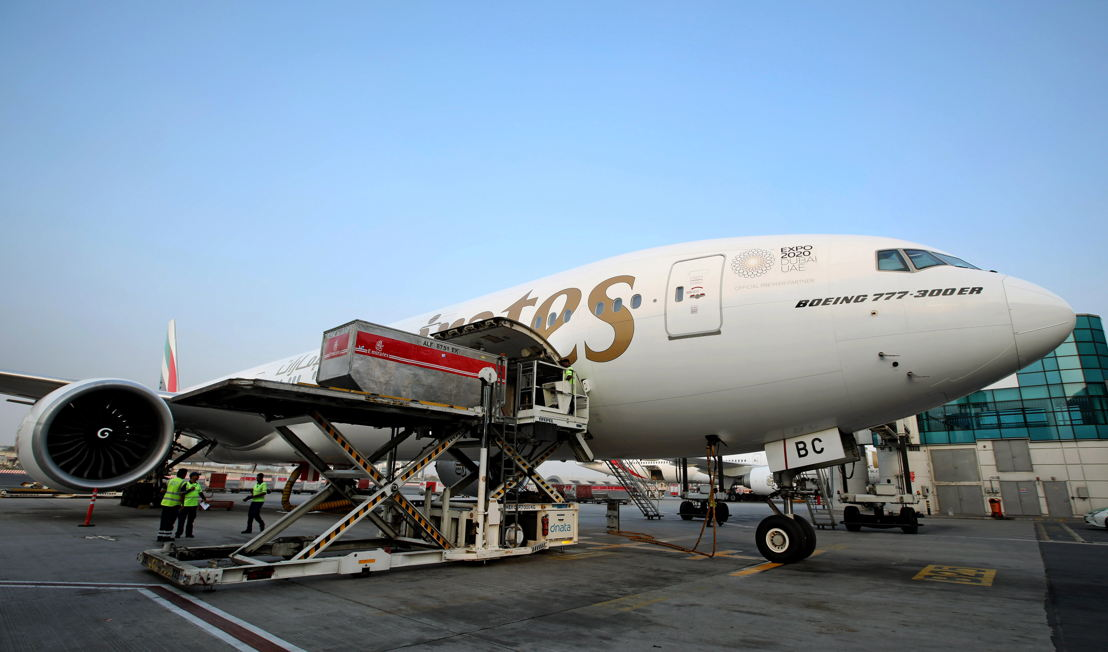 Emirates SkyCargo transports flood relief cargo for Kerala